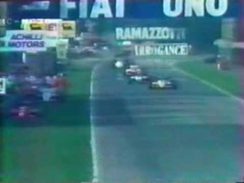 F1 GP Formula 1 1984 Italia Monza 6/10