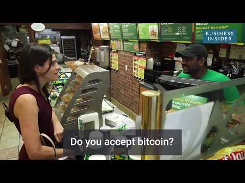 Experiment: Trying to pay for thing with GOLD vs. BITCOINS! Who do you think won?