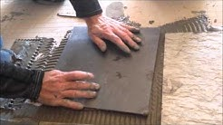 How to install slate flooring the easy way - Part 4