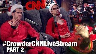 Crowder's 16-Hour CNN Torture Livestream! (Part 2)   Louder With Crowder thumbnail