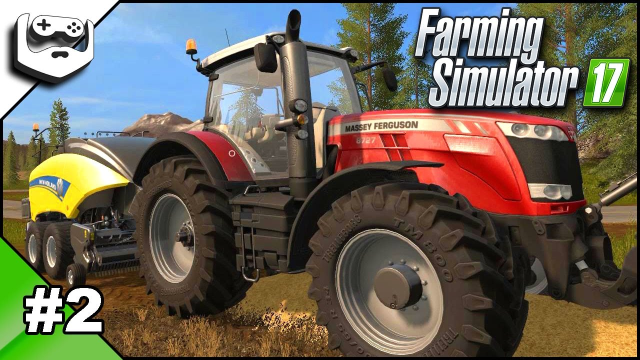 Farming Simulator 17 gameplay in romana episodul 2 | lucrăm cu paie și rahat!