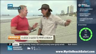 Weather Channel  Visits the Myrtle Beach Safari