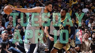 NBA Daily Show: Apr. 10 - The Starters
