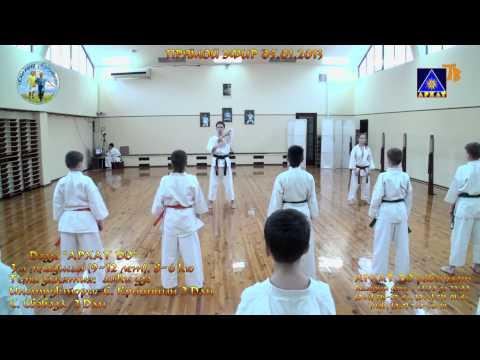 Архат До 3 мл. группы Б 9-12 лет  тренировка 05.01.2013