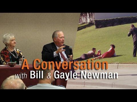 JFK Lancer 2016: A Conversation with Bill & Gayle Newman