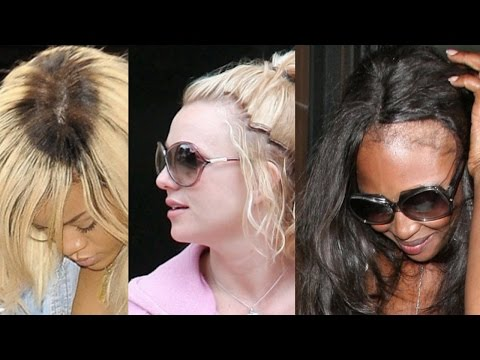CELEBRITIES WHO WEAR WEAVE (Worst Hairstyles)