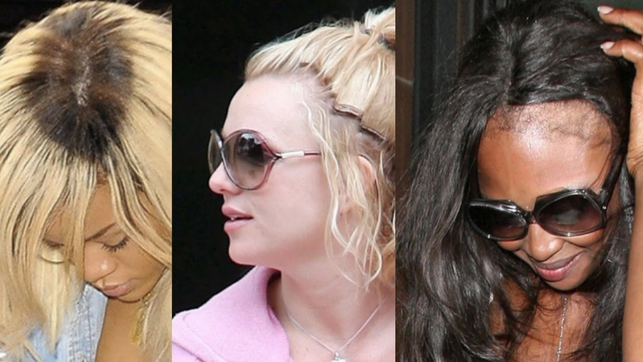 Celebrities Who Wear Weave Worst Hairstyles Youtube