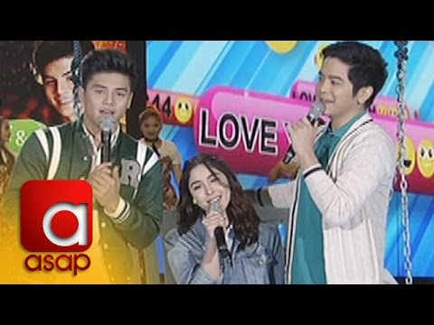 "ASAP: Julia, Ronnie And Joshua Sing ""Hey Crush / O Pag-ibig"""