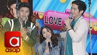 "Download Video ASAP: Julia, Ronnie and Joshua sing ""Hey Crush / O Pag-ibig"" MP3 3GP MP4"