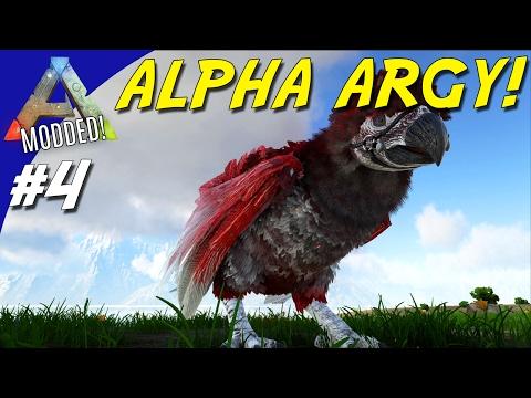 ALPHA ARGY TAME! - ARK Survival Evolved Dansk Modded - Ep 4 (Extinction Core)