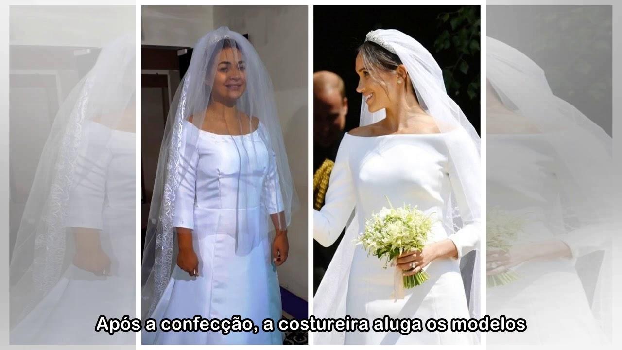 855bb819d66 Inspirada no casamento real