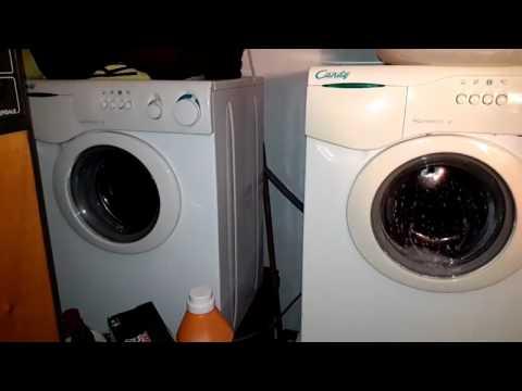 The Twin Washers: La Coppia Di Candy Aquamatic 6T In Centrifuga