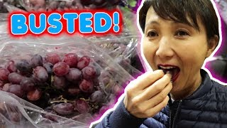 Caught Mama Wong STEALING Grapes!!   Vlog