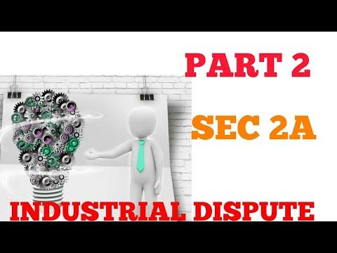 Part 2 || Industrial Dispute|| Individual dispute|| Analysis Sec 2A|| Workmen|| Labour Law|| CS,LLB