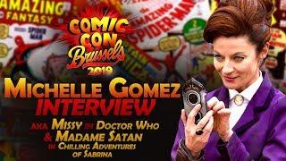 Michelle Gomez Interview (aka Missy & Madame Satan) - Brussels Comic Con 2019
