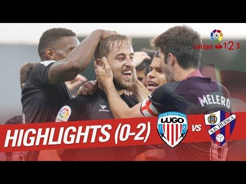 Resumen de CD Lugo vs SD Huesca (0-2)