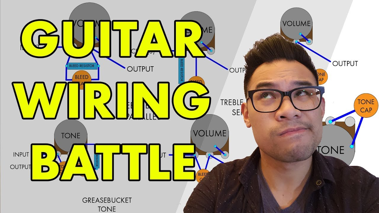 The Best Wiring Scheme For Your Guitar Tone Lab Youtube Treble Bleed Diagram Humbuckers