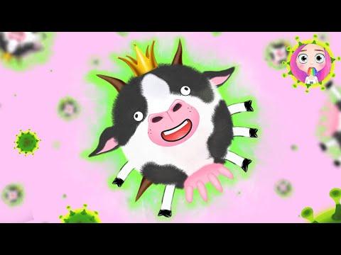 Корова-вирус анимация от NaStik #StayHome