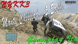 GTA 5 - Gameplay ITA HD - Cazzeggio Sul Monte Chilliad Con 5 Stelle E Trucchi