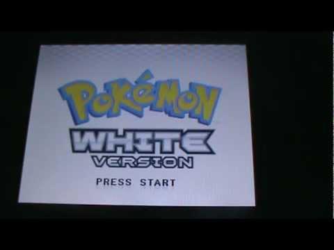 how to delete data from pokemon white/black