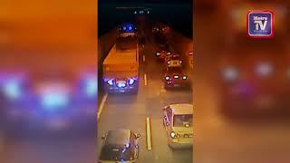 Enam motosikal konvoi kemalangan