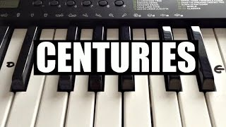 Centuries - Fall Out Boy | Easy Keyboard Tutorial With Notes (Right Hand)