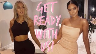 GET READY WITH US! | NIGHT OUT | Sophia and Cinzia
