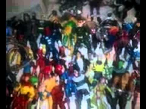 My marvel legends and dc universe classics moving