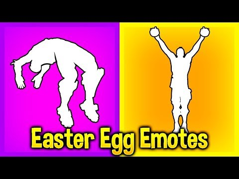These 5 Fortnite EMOTES Have SECRET Hidden Features..! (Easter Egg Emotes)