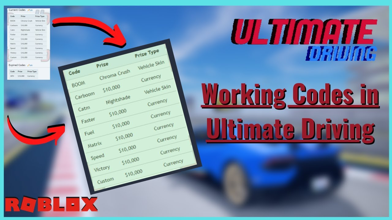Codes For Driving Empire Roblox 2020 / Roblox: Ultimate ...