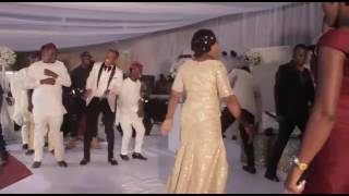 Woli agba39s wedding Dancing competition