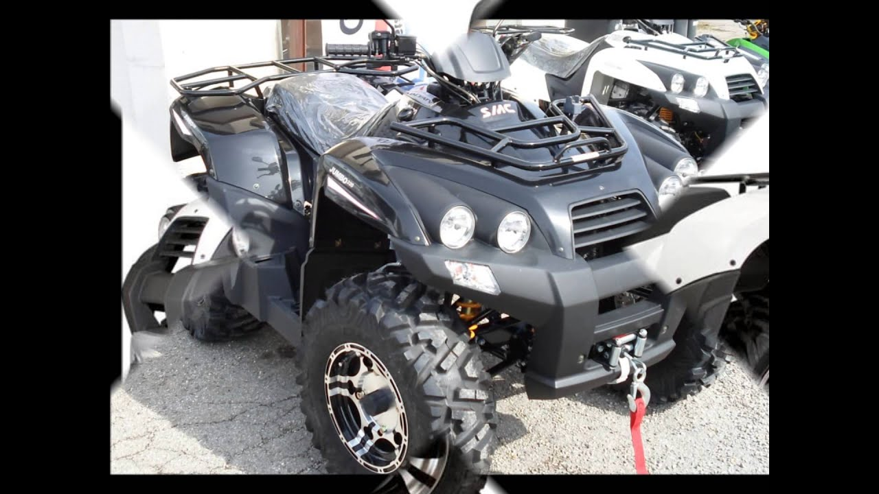 Quad/ATV SMC/Barossa 320 520 700 Modelle in Chiemgau - YouTube
