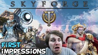 """Skyforge Beta First Impressions """"Is It Worth Playing?"""""""