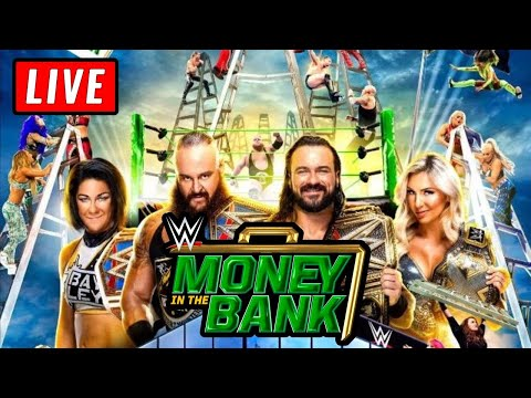 🔴 WWE MONEY IN THE BANK 2020 Live Stream Reactions - Full Show Watch Along To MITB 2020