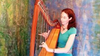 "Celtic Harp Solo ""Spring Fever"" by Nadia Birkenstock (keltische Harfe)"