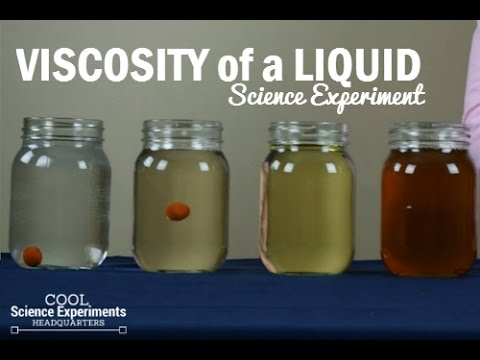 How to test the Viscosity of a Liquid