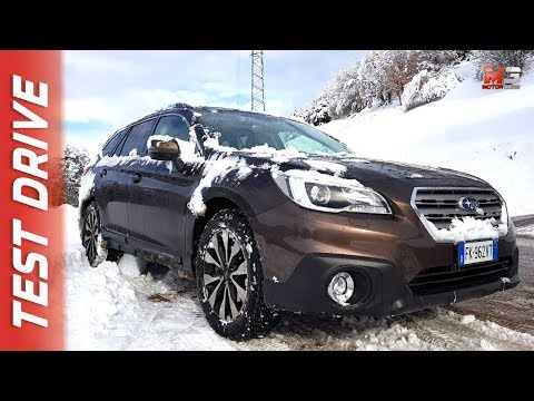 NEW SUBARU OUTBACK AWD 2018 - FIRST SNOW TEST DRIVE