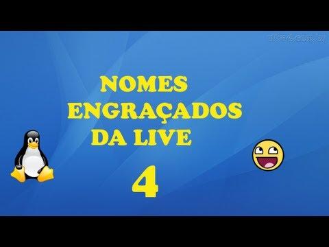 Nomes Engraçados da Live/PSN