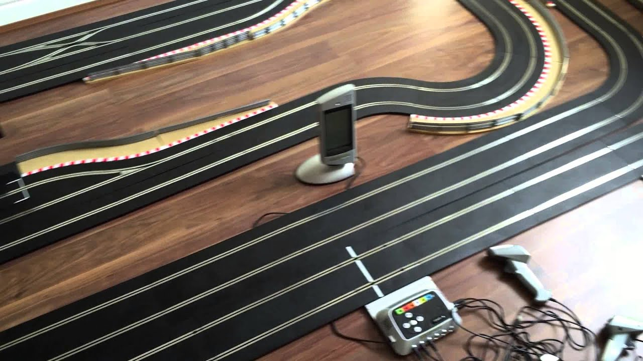 how to make your own slot car pit lane