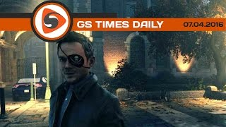 GS Times [DAILY]. Quantum Break, DOOM, Gears 4