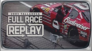 NASCAR Classic Race Replay: 2003 Aaron's 499 | Talladega Superspeedway