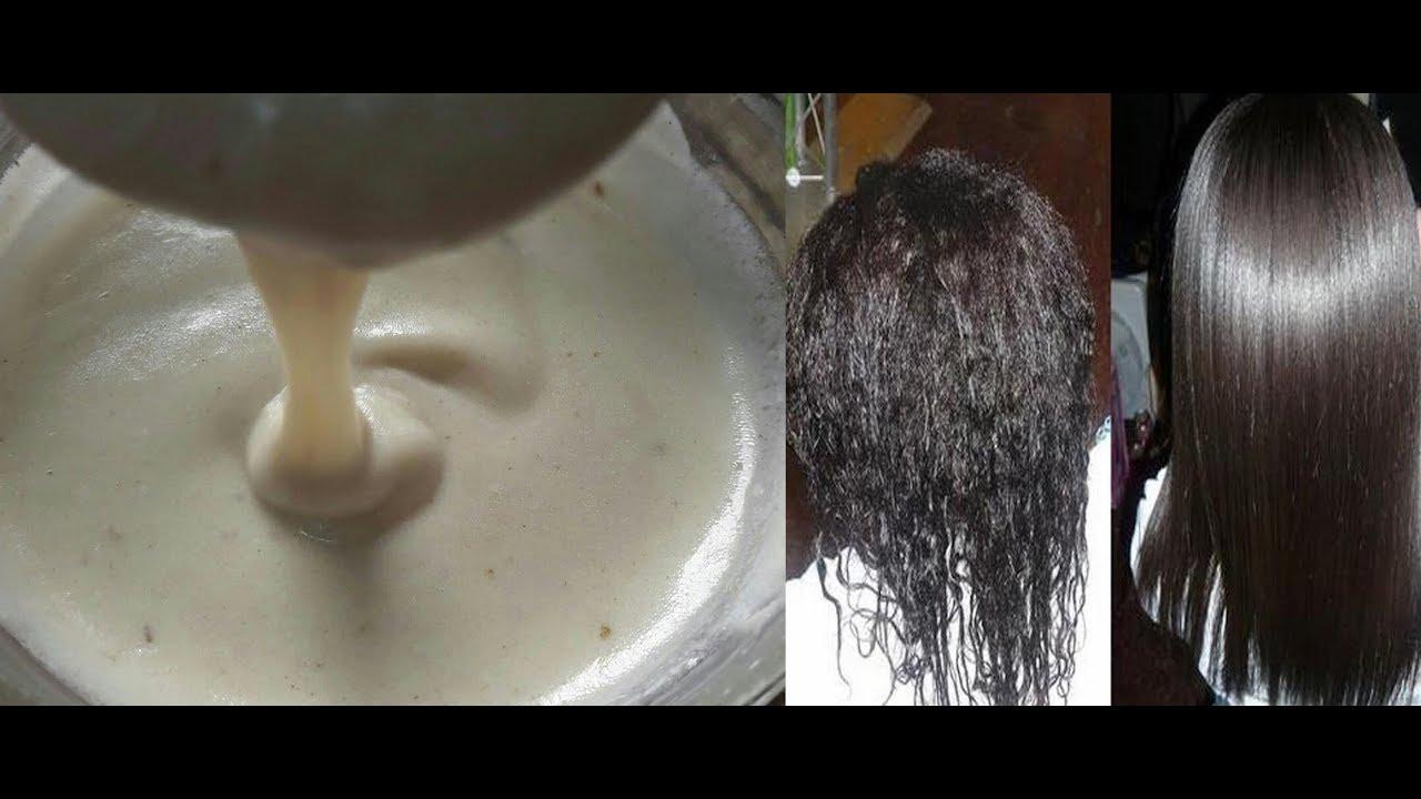 Superbe Comment Se Lisser Les Cheveux Naturellement ? Remède Maison