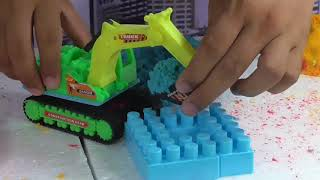Playing Sand And Lego For Kids