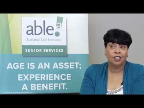 Age is an Asset; Experience a Benefit | National Able Network