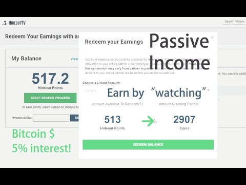 Triple-Trick to earn Passive Income in Bitcoins (Hideout TV & Cointiply)