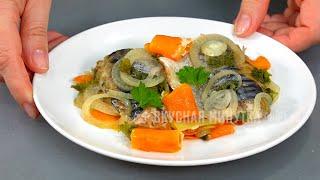 Так можно приготовить ЛЮБУЮ рыбу но СКУМБРИЯ получается вкуснее всего