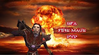 A little bit pvp on Fire mage (BfA)