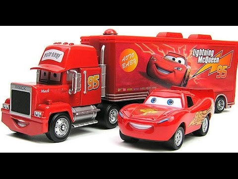 disney pixar cars mack camion disney camions jouets pour les enfants youtube. Black Bedroom Furniture Sets. Home Design Ideas