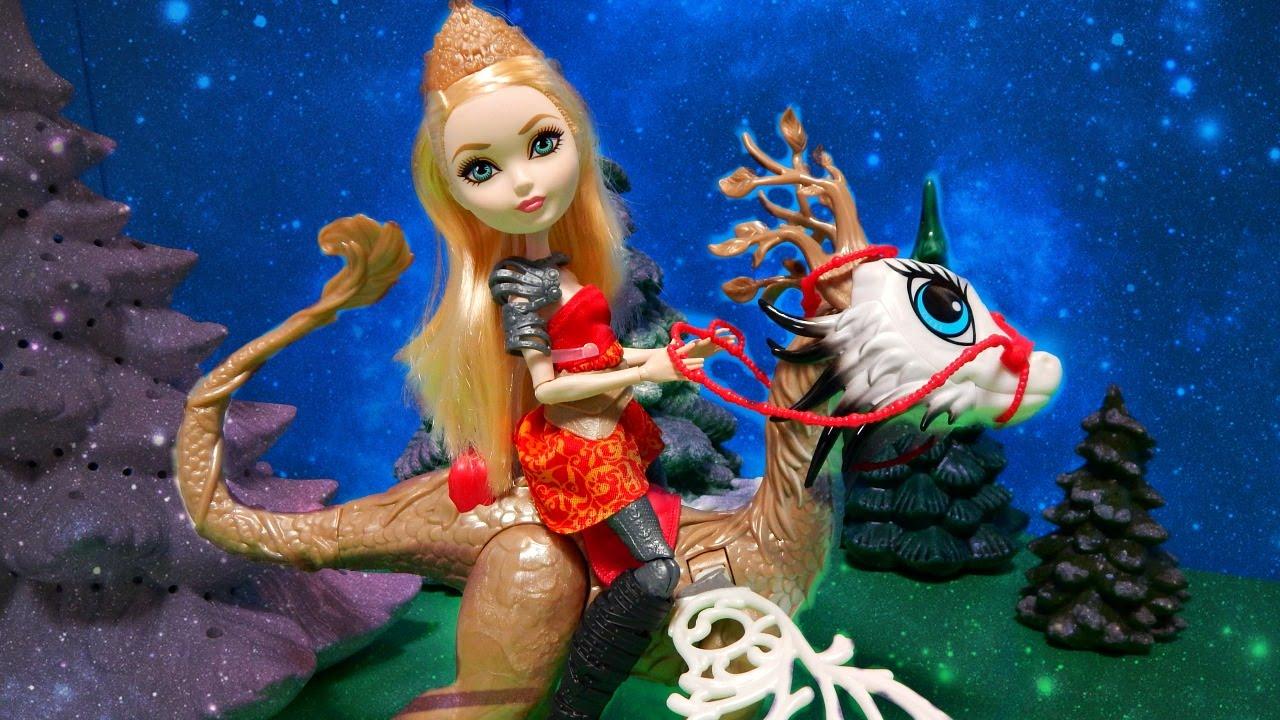 Кукла эвер афтер хай эппл вайт игры драконов