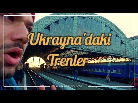 Ukrayna'daki En Külüstür ve En Lüks Trenler 🇺🇦